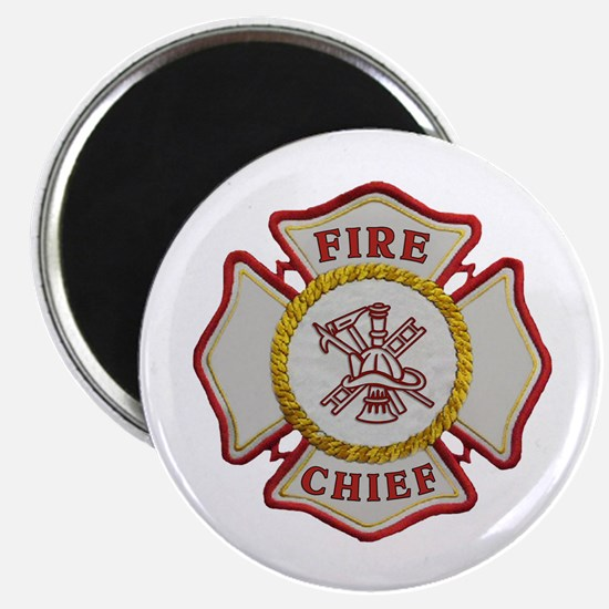 Fire Chief Maltese Magnet