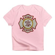 Fire Chief Maltese Infant T-Shirt