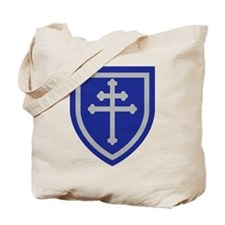 Cross of Lorraine Tote Bag