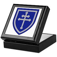 Cross of Lorraine Keepsake Box