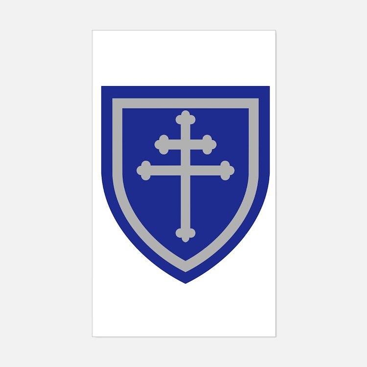Cross of Lorraine Decal