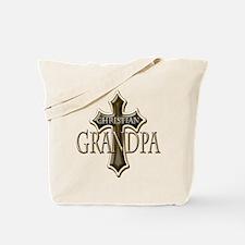 Christian Grandpa Tote Bag