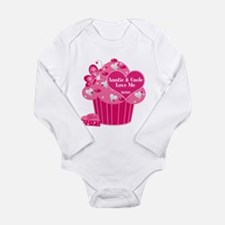 Valentine Cupcake/Auntie/Uncle Baby Outfits