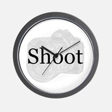 Shoot Wall Clock