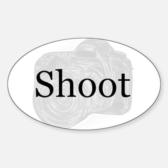 Shoot Sticker (Oval)