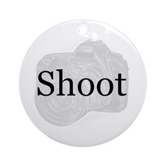 Shoot Ornament (Round)