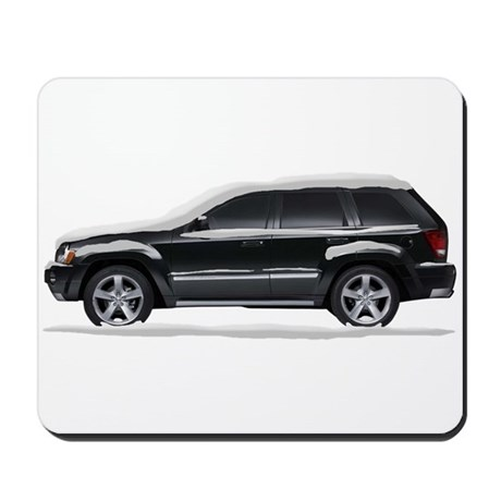 Snow Covered Jeep Grand Chero Mousepad