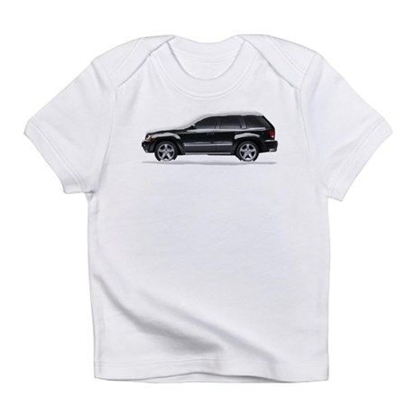 Snow Covered Jeep Grand Chero Infant T-Shirt