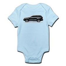 Snow Covered Jeep Grand Chero Infant Bodysuit