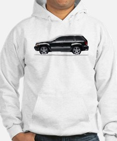 Snow Covered Jeep Grand Chero Hoodie