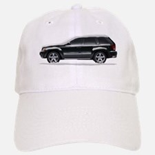 Snow Covered Jeep Grand Chero Baseball Baseball Cap