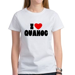 I Love Quahog Women's T-Shirt