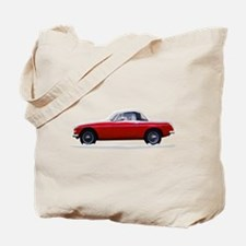 Snow Covered MG Tote Bag
