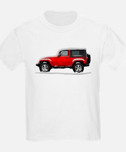 Snow Covered Jeep Wrangler T-Shirt
