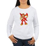 Fire Fairy Women's Long Sleeve T-Shirt