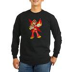 Fire Fairy Long Sleeve Dark T-Shirt