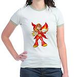 Fire Fairy Jr. Ringer T-Shirt