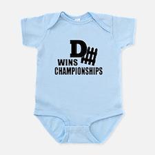 Defence Wins Championships Infant Bodysuit