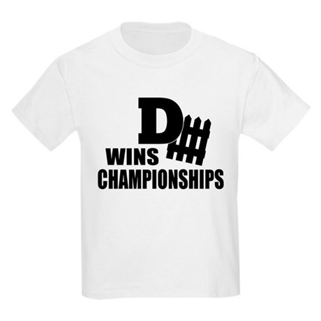 Defence Wins Championships Kids Light T-Shirt