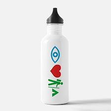 """I Heart Camping"" Water Bottle"