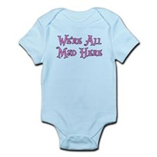 We're All Mad Here Alice Infant Bodysuit