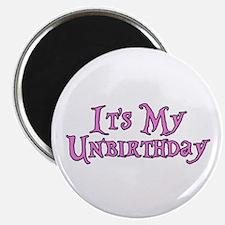 It's My Unbirthday Alice in Wonderland Magnet