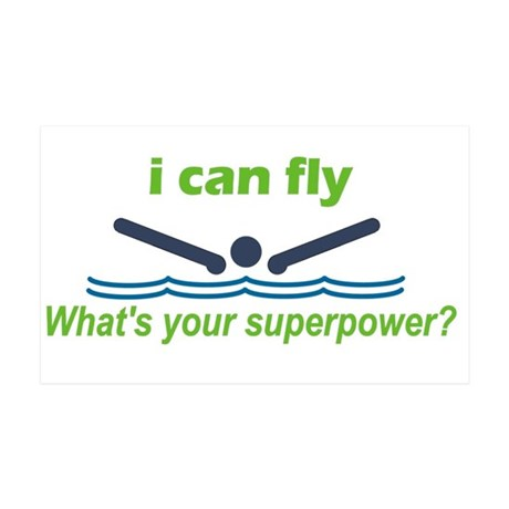I Can Fly 38.5 X 24.5 Wall Peel
