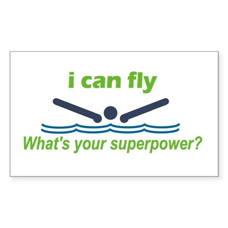I Can Fly Sticker (Rectangle)