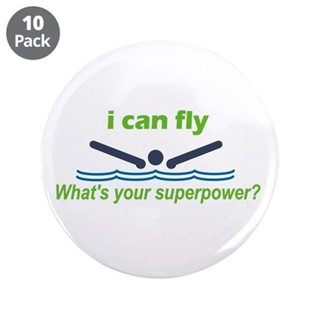 "I Can Fly 3.5"" Button (10 pack)"