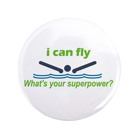 """I Can Fly 3.5"""" Button"""