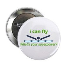 """I Can Fly 2.25"""" Button"""