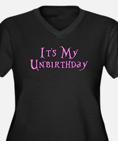 It's My Unbirthday Alice in Wonderland Women's Plu