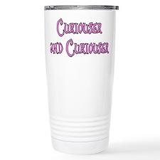 Curiouser and Curiouser Alice Travel Mug
