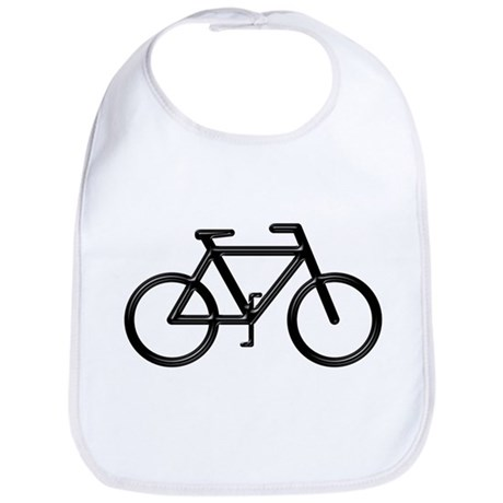 """Black Bike"" Bib"