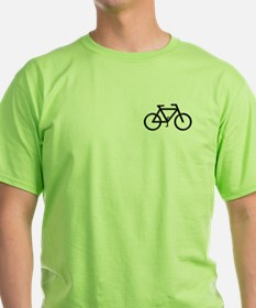 """Black Bike"" T-Shirt"