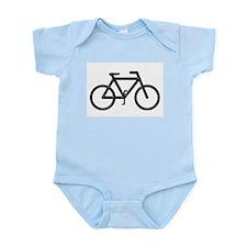 """""""Black Bike"""" Infant Creeper"""