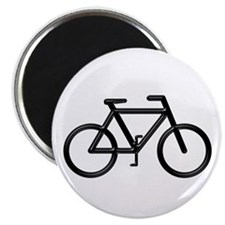 """Black Bike"" Magnet"