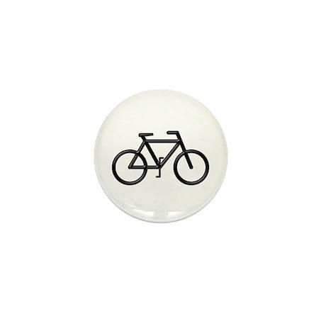 """Black Bike"" Mini Button (10 pack)"