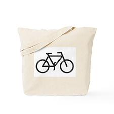 """""""Black Bike"""" Tote Bag"""