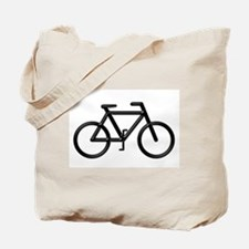 """Black Bike"" Tote Bag"