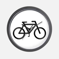 """Black Bike"" Wall Clock"