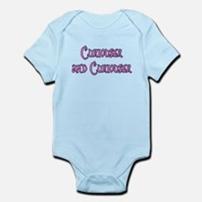Curiouser and Curiouser Alice Infant Bodysuit