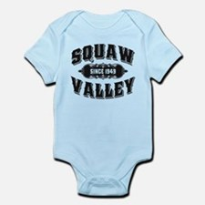 Squaw Valley Old Black Infant Bodysuit