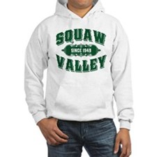 Squaw Valley Old Style Green Hoodie