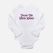 Follow The White Rabbit Long Sleeve Infant Bodysui
