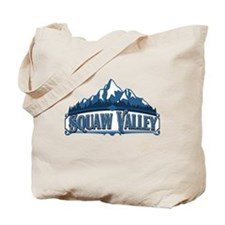Squaw Valley Blue Mountain Tote Bag