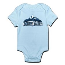 Squaw Valley Blue Mountain Infant Bodysuit