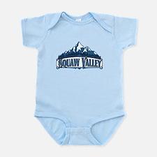Squaw Valley Blue Mountain Infant Bodysuit