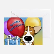 Corgi Birthday Greeting Card
