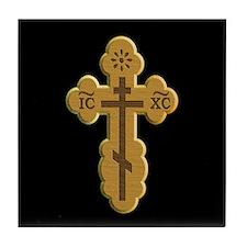 Tile Coaster Orthodox Cross